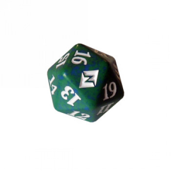 Кубик D20 (счетчик жизней) Battle for Zendikar (Green) фото цена описание