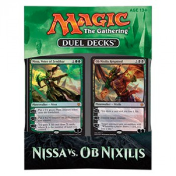 Duel Decks: Nissa vs. Ob Nixilis: Full Set фото цена описание